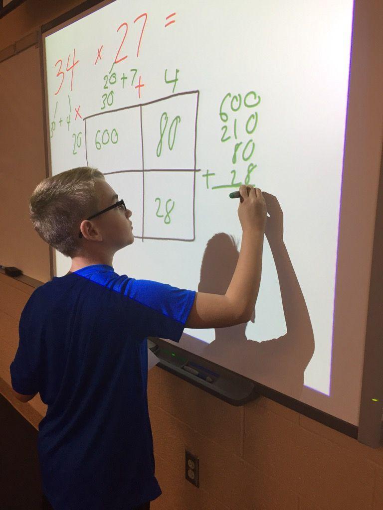 fifth grade math class