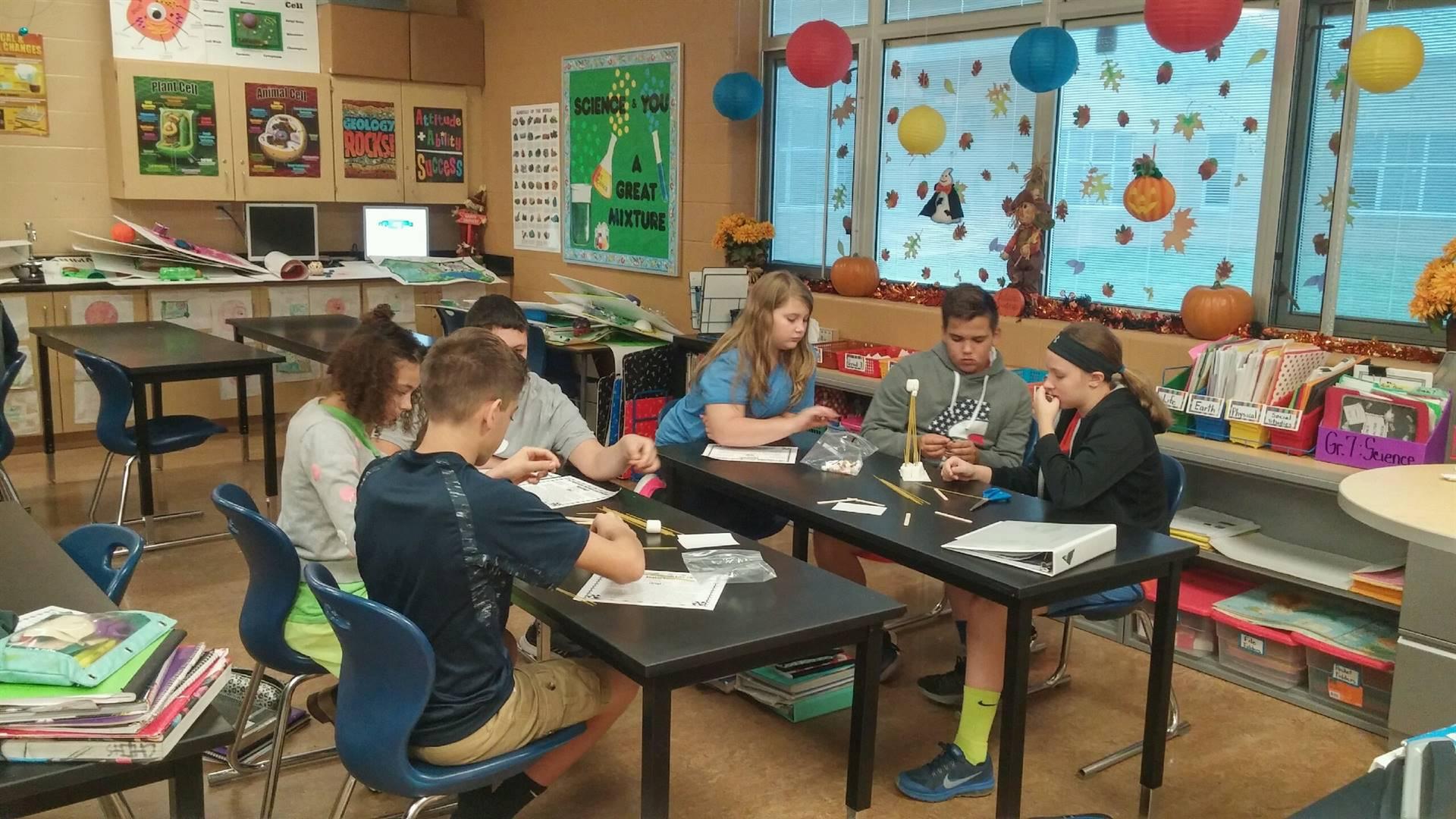 seventh grade science lab