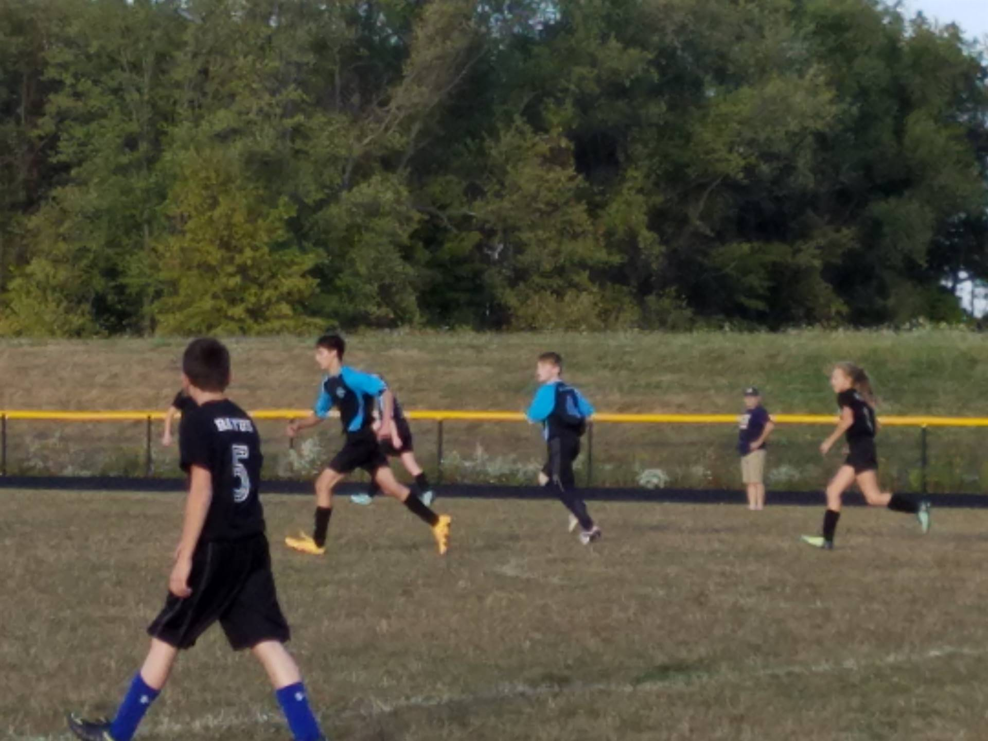 Some of our BMS students competing on Brookfield Youth Soccer's 14u Team