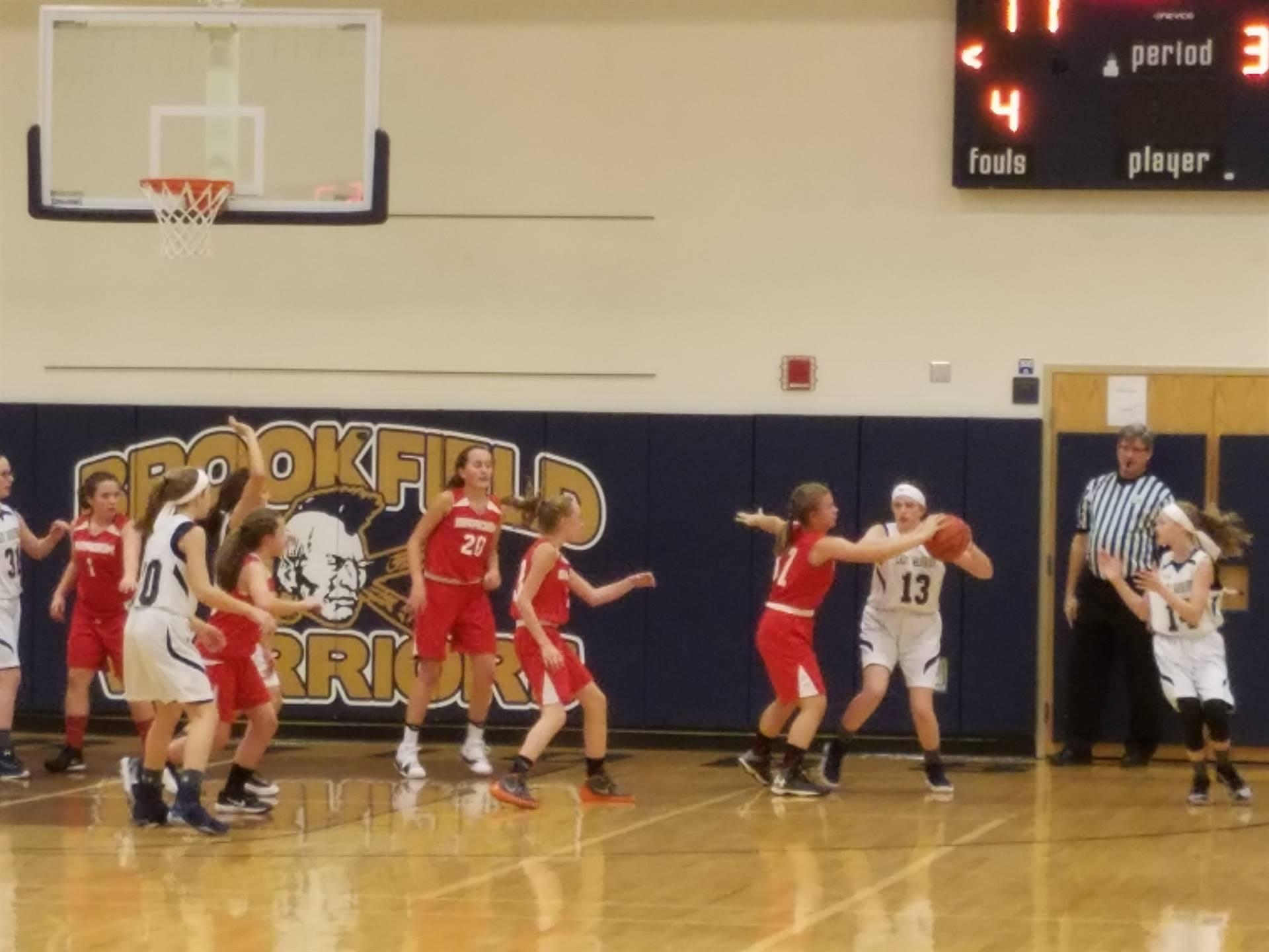 seventh grade girls basketball