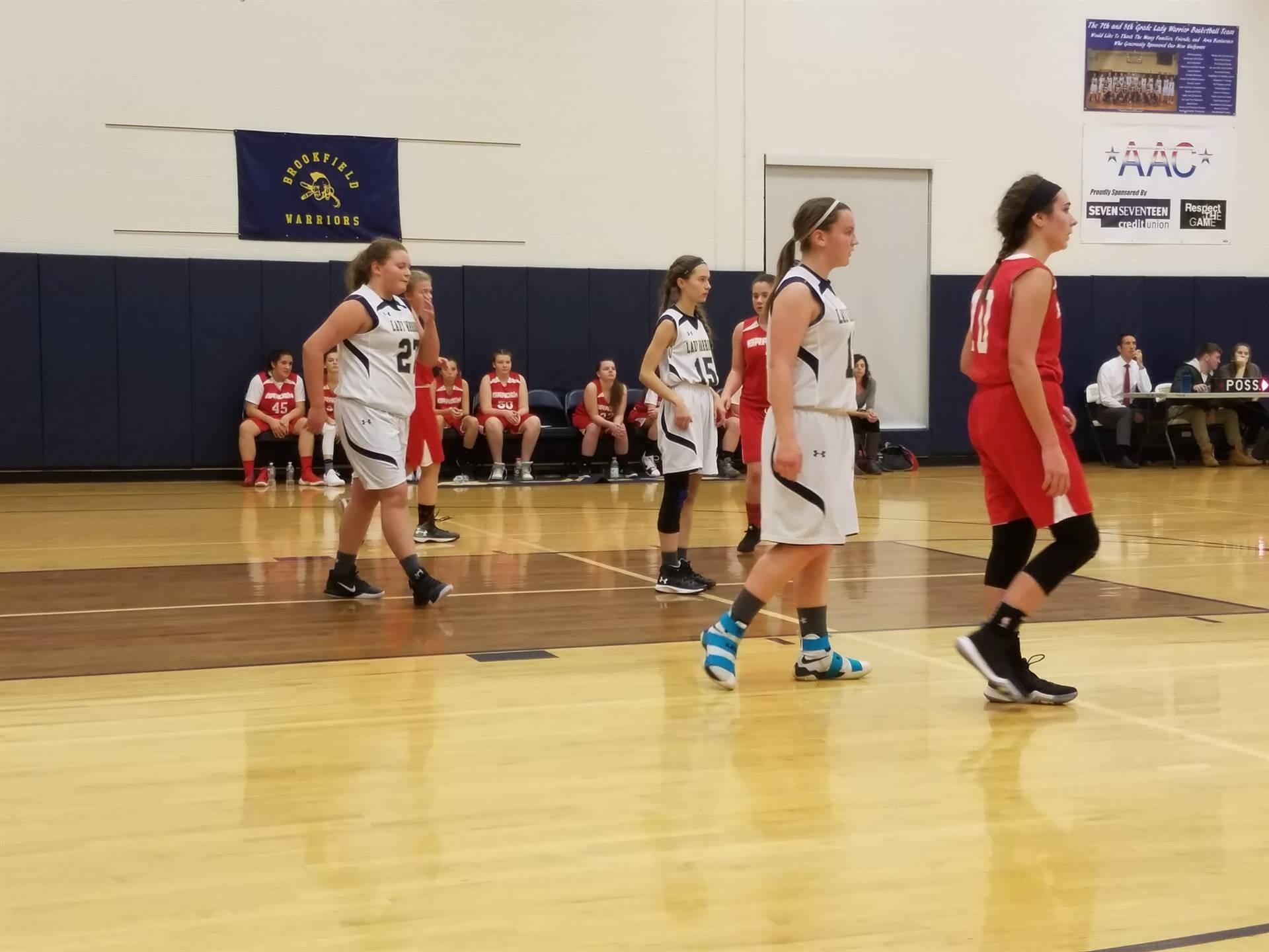 eighth grade girls basketball