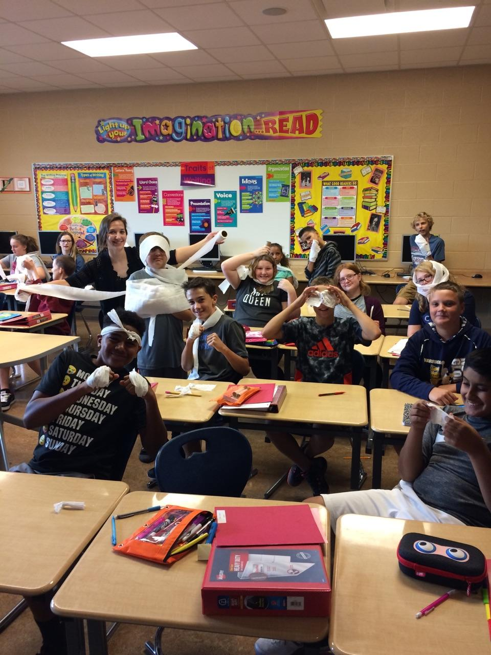 7th Grade ELA Activity with Mrs. M. Miller