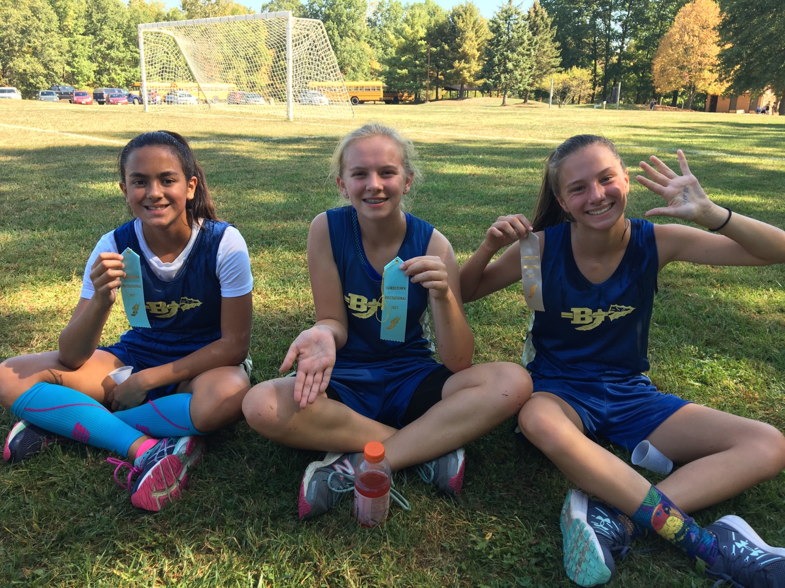 BMS Girls Cross Country placed at the Lordstown Meet