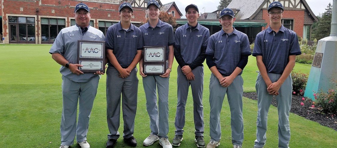 golf team aac champions