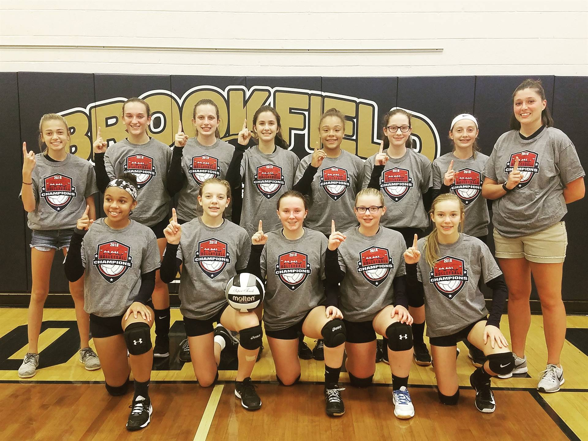 8th Grade Volleyball:  2018 AAC Blue Tier Champs