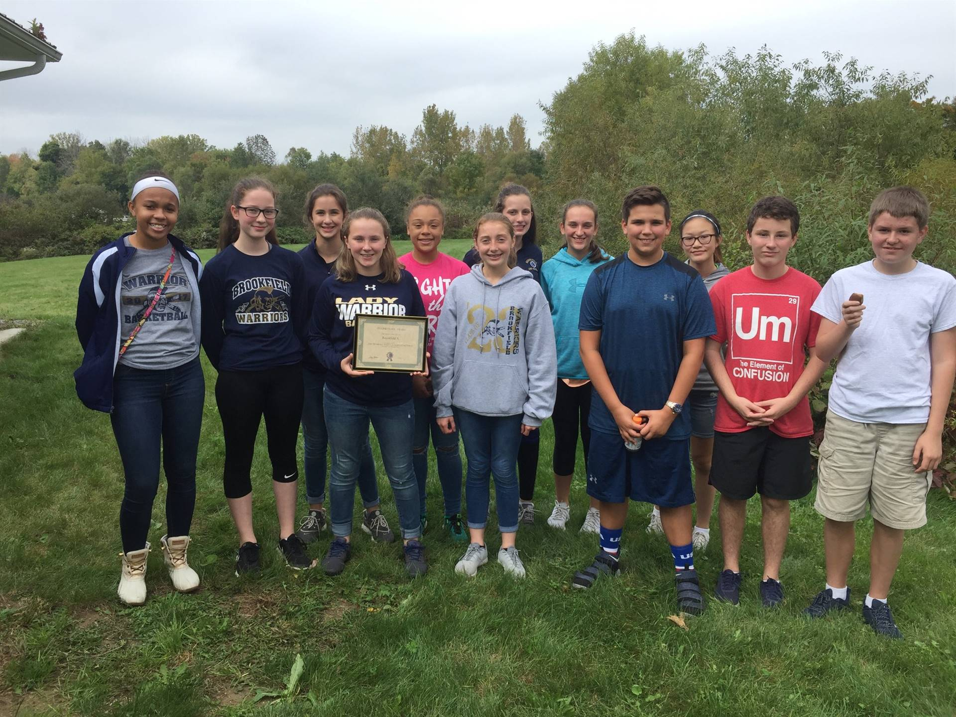 BMS Envirothon Team finished 2nd in the 2018 Trumbull County Envirothon