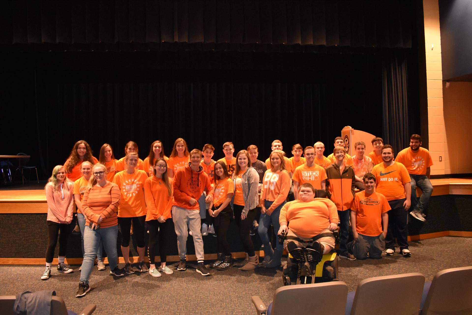 Brookfield Field High School Unity Day