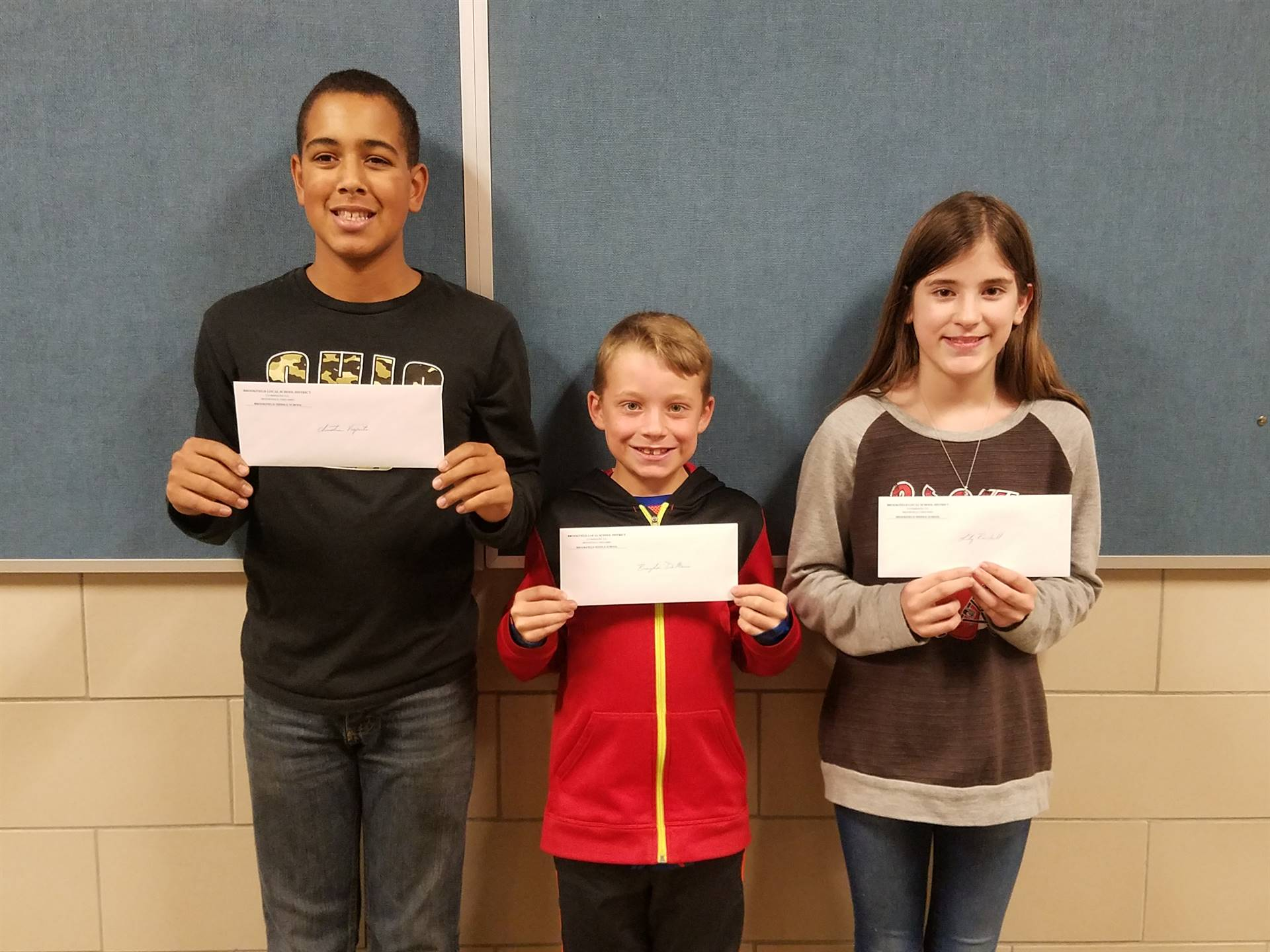 """""""Caught Being Kind"""" Winners - End of Quarter 1"""