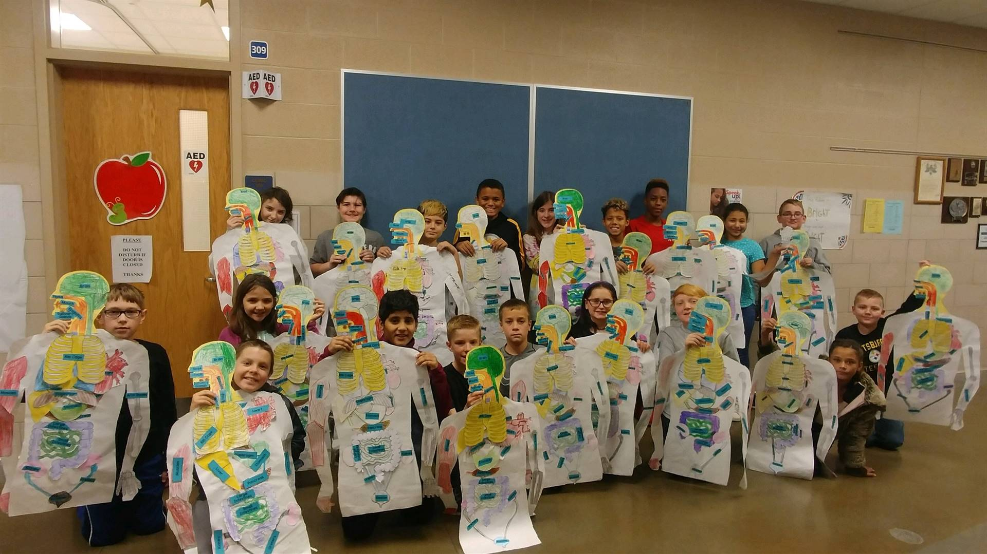 """Mrs. Pierko's 6th Grade Science """"Bodies at Work"""" Unit."""
