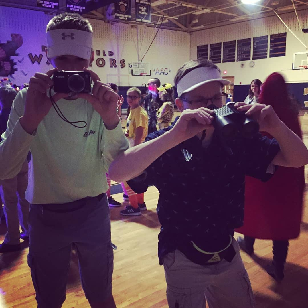 Great Costume Ideas at the Halloween Dance.
