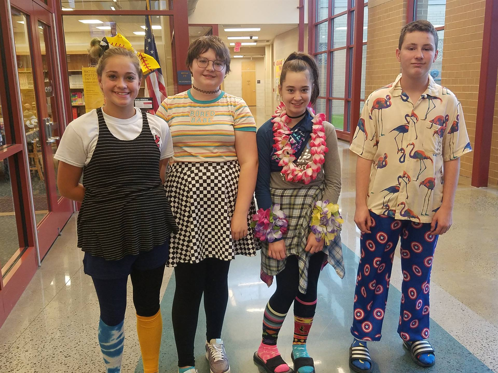 "Red Ribbon Week:  ""Don't Get Mixed up with Drugs"" -  Mix & Match Day"