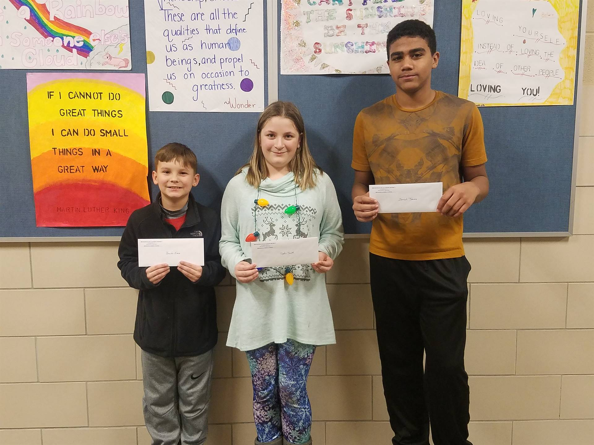 """""""Caught Being Kind"""" Winners - Mid-Quarter 2"""