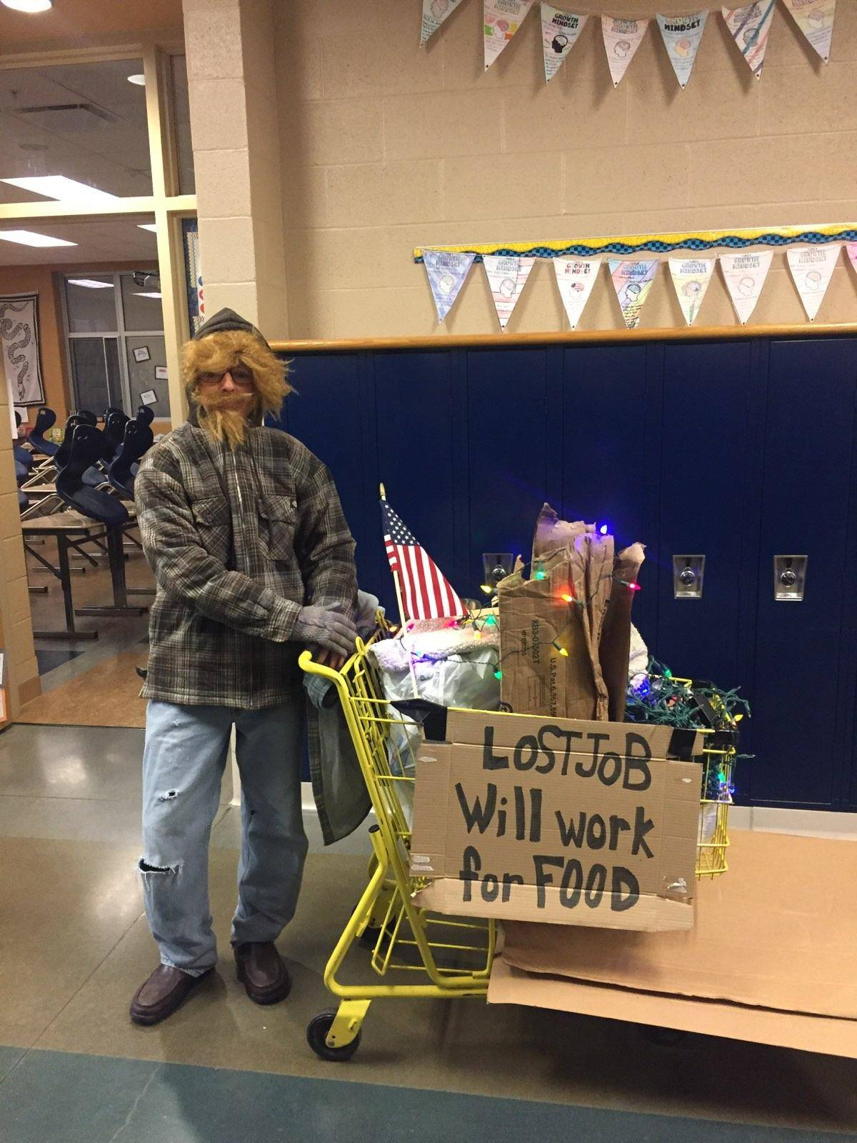Mrs. Horn's introduction to her 8th Grade Homeless Projects.