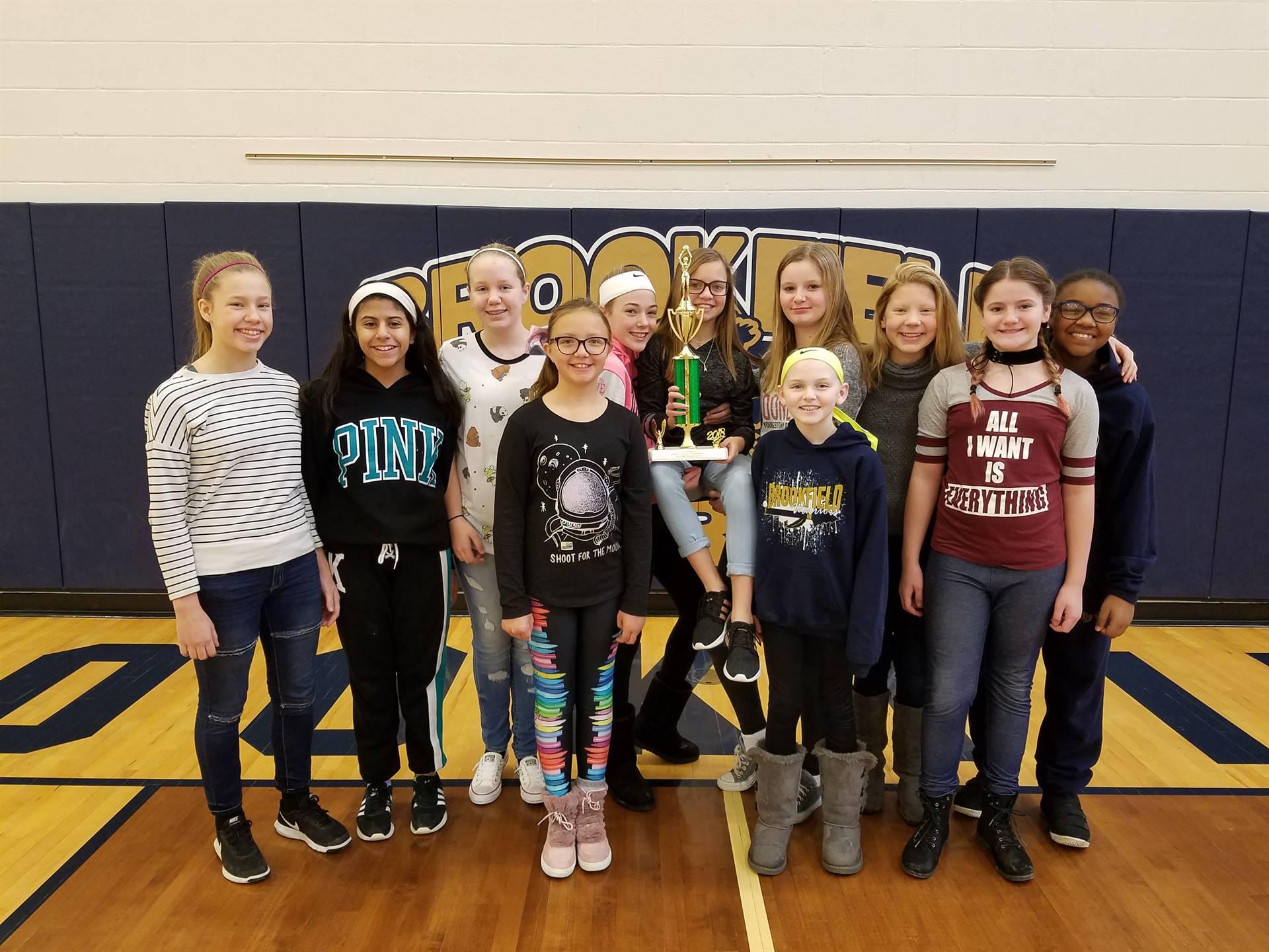 6th Grade Girls Basketball:  2nd Pl. in Erin Scullin Tournament
