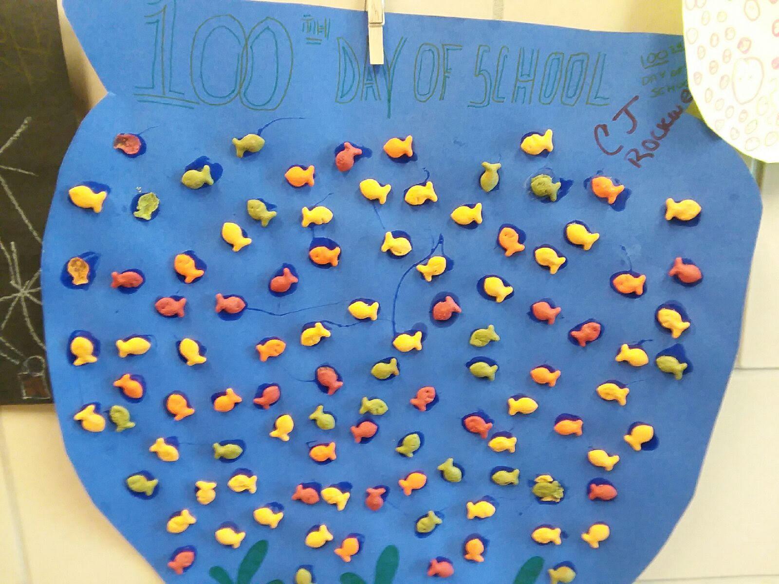 100 goldfish