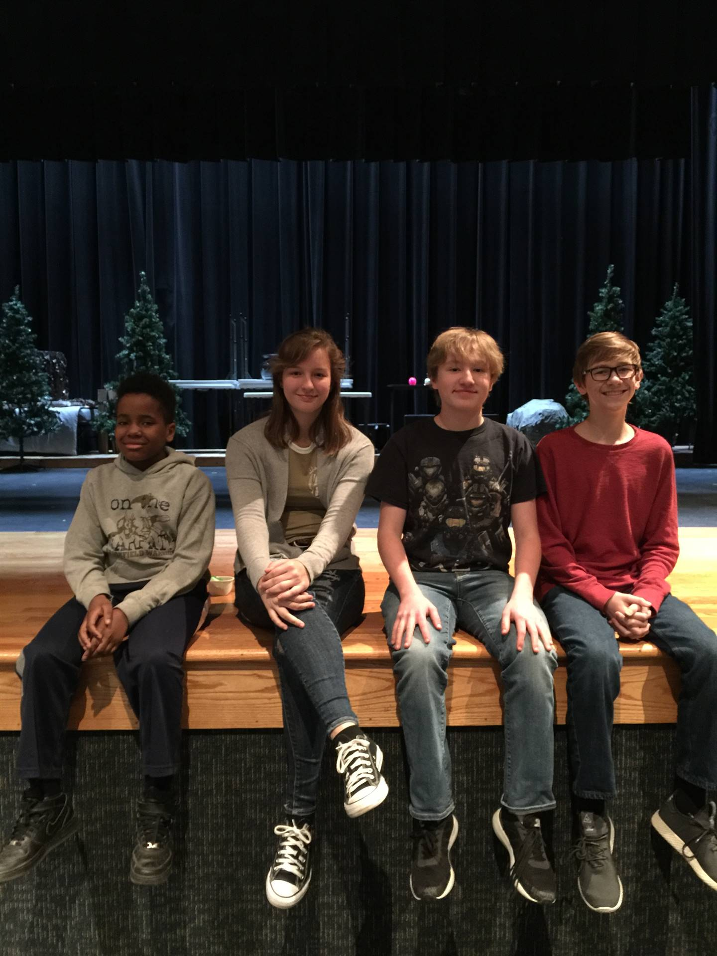 BMS Prep Bowl Competition Team - Finished 7th out of 36 teams at Copley MS