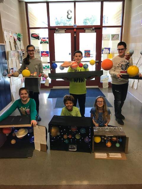 5th Grade Science - Solar System Projects