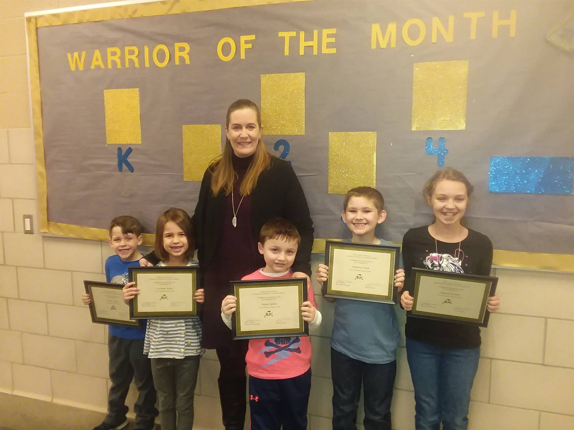March warriors of the month group photo