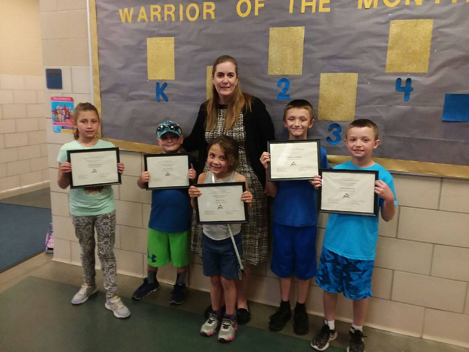 warriors of the month may 2018