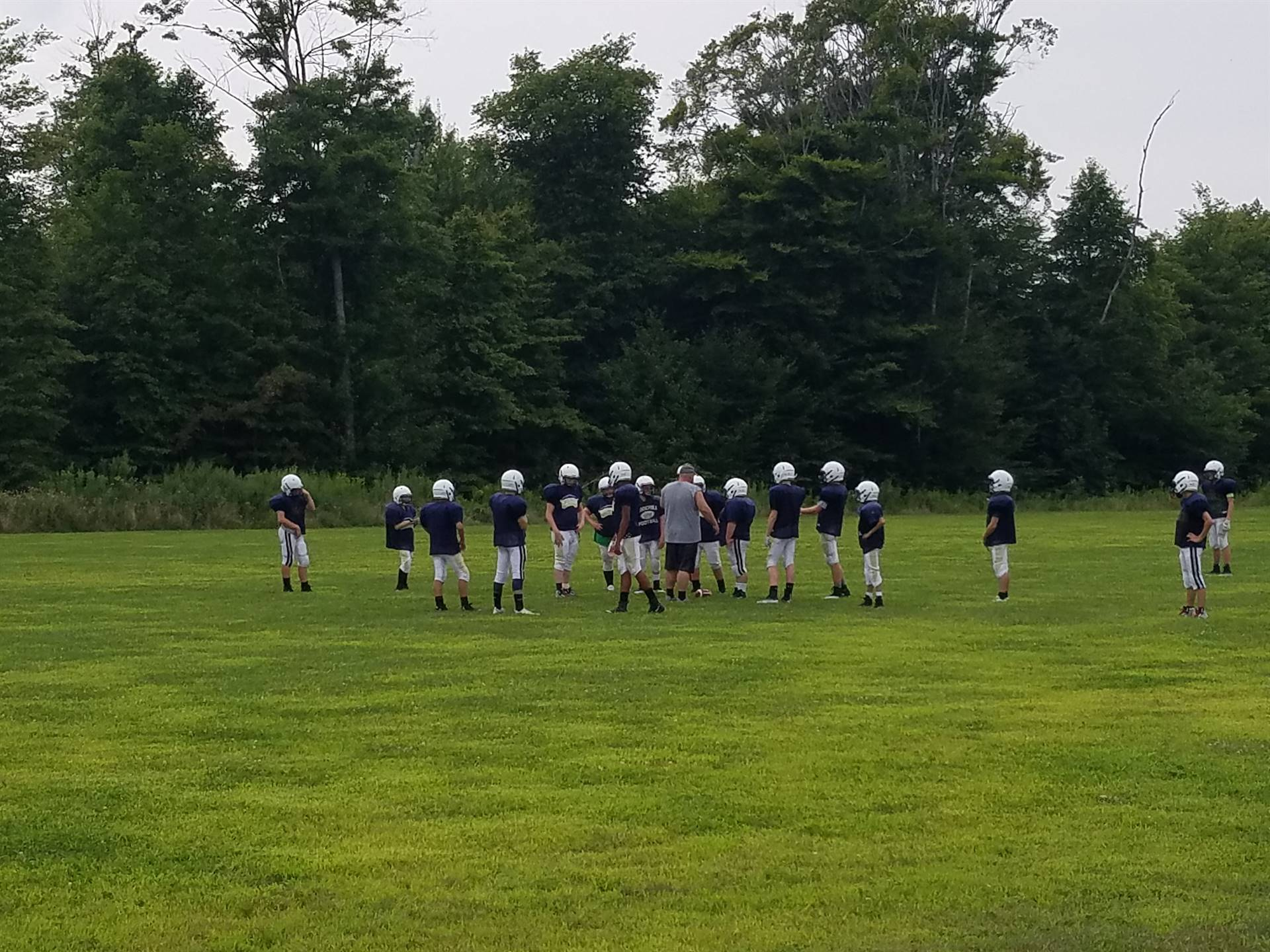 2018 BMS Football Preparing for the Season