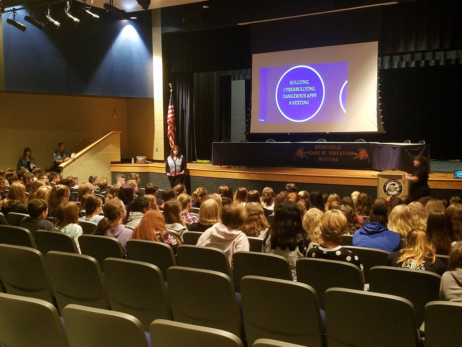Thank you to Trumbull County Juvenile Court for coming out to talk with our students about Bullying