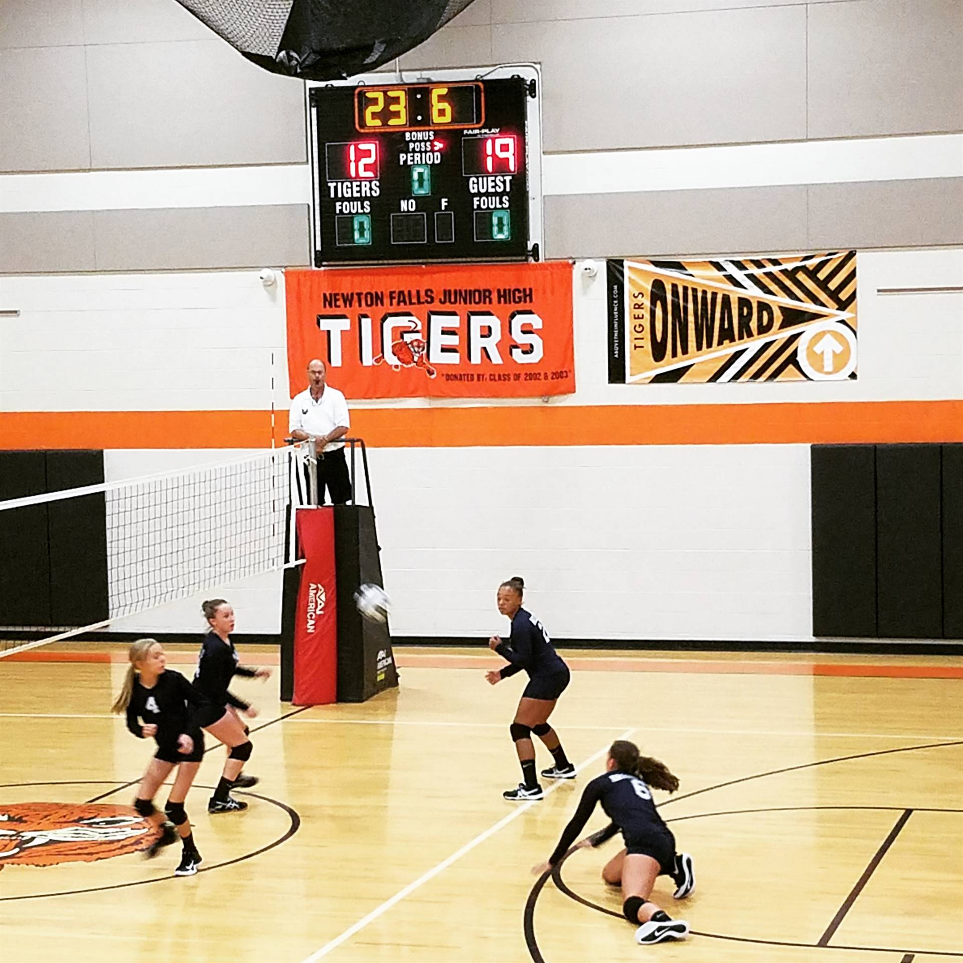 8th Grade Volleyball vs. Newton Falls