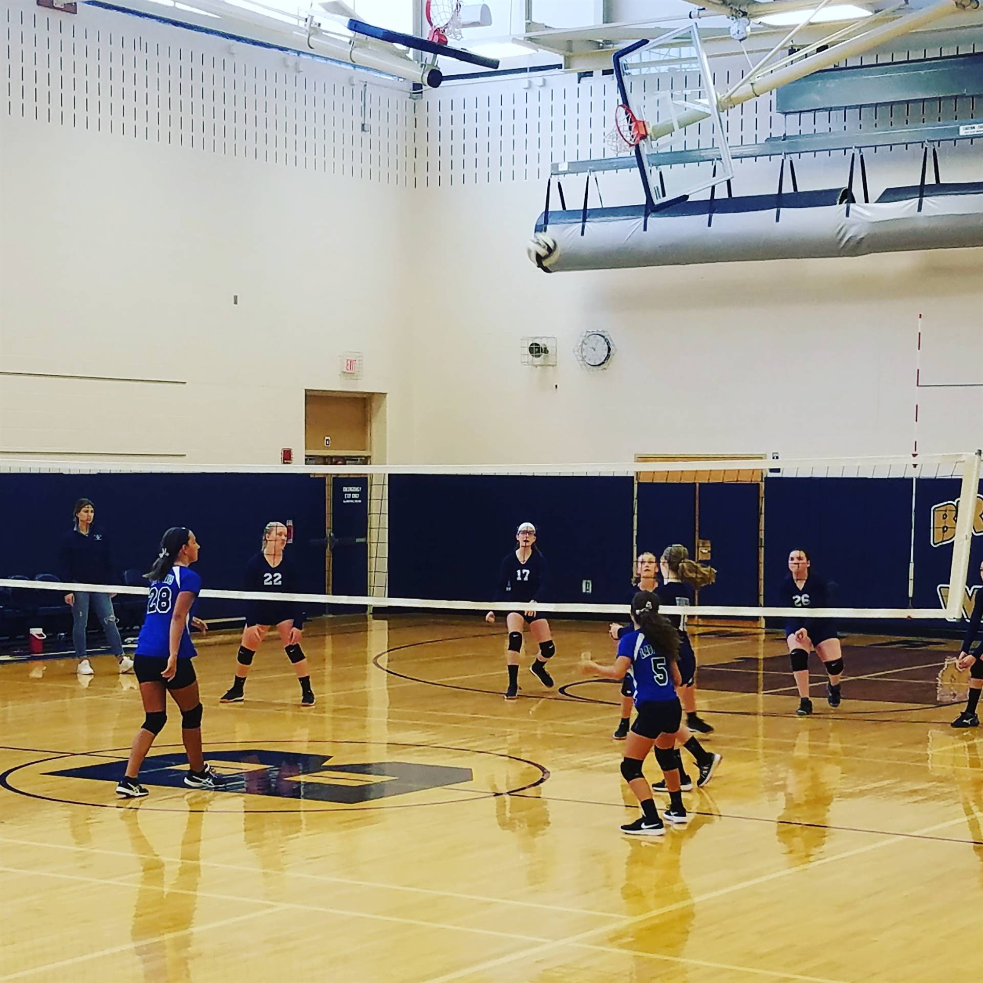 7th Grade Volleyball vs. Jackson Milton