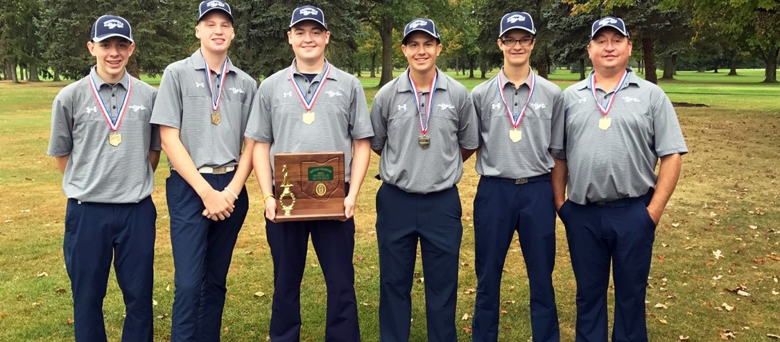 Golf District Champs 2017