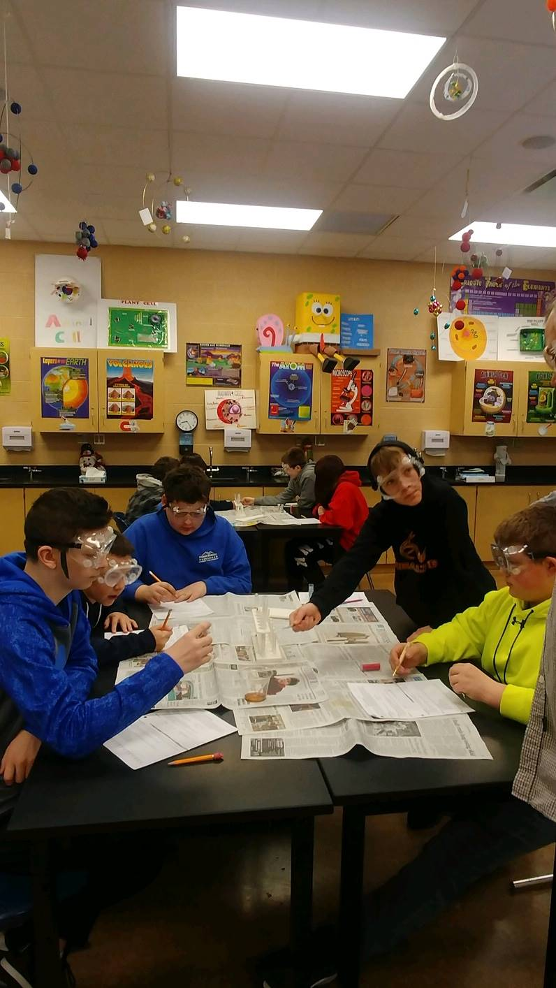 Mrs. Pierko's 7th Grade Science pH experiments