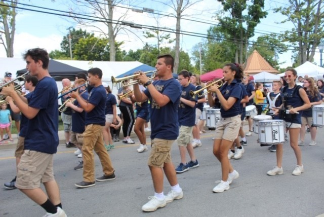 BHS Band in the Summer Fest Parade