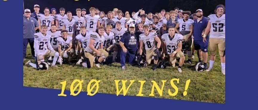 100 Wins for Coach Clark!